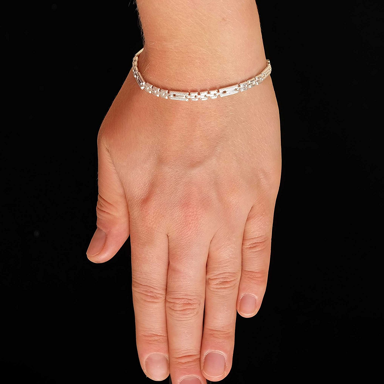hochwertige 925 silber armband fr frauen 4 mm breit19cm lnge leichte 1434 b01m0q4lxe 2. Black Bedroom Furniture Sets. Home Design Ideas