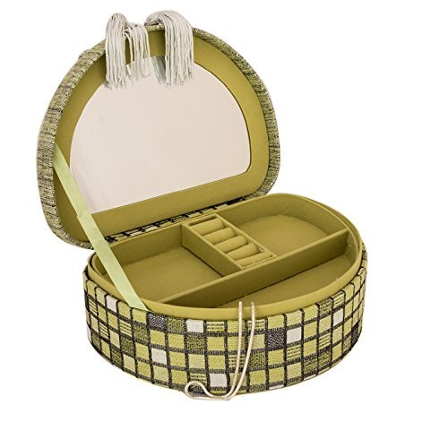 schmuckk stchen in muschelform schmuckkoffer schmuckkasten mit spiegel box schmuck aufbewahrung. Black Bedroom Furniture Sets. Home Design Ideas