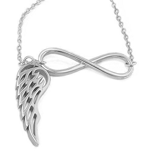 Halskette silber damen 45 cm